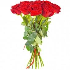 Букет С праздником ХИТ из 11 роз